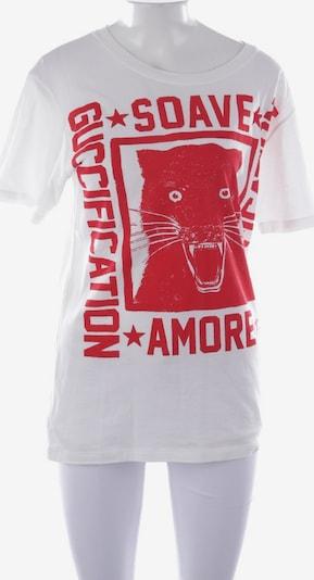 Gucci Shirt in L in rot / weiß, Produktansicht