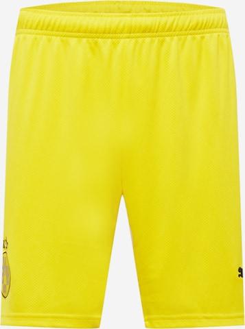 PUMA Spordipüksid 'BVB', värv kollane