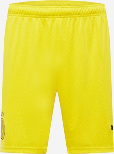 PUMA Shorts 'BVB' in gelb / neongelb / schwarz, Produktansicht