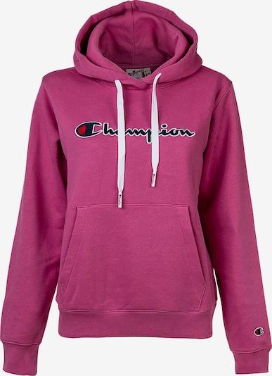 Champion Authentic Athletic Apparel Sweatshirt in nachtblau / himbeer / hellrot / weiß, Produktansicht