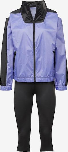 REEBOK Trainingsanzug in lila / schwarz, Produktansicht