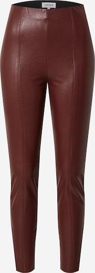 EDITED Leggings 'Teresa' in burgunder, Produktansicht