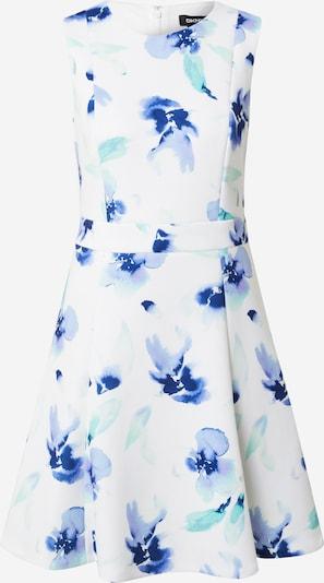 DKNY Robe d'été en turquoise / bleu clair / bleu foncé / blanc, Vue avec produit