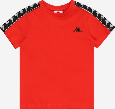 KAPPA Shirt 'ILYAS' in de kleur Rood / Zwart / Wit, Productweergave