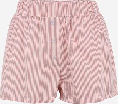 Missguided Petite Shorts in pink / weiß, Produktansicht
