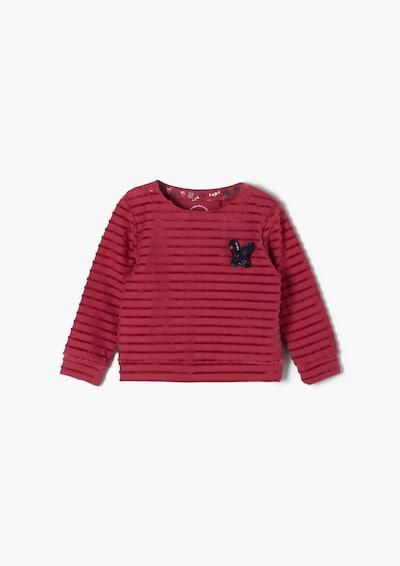 s.Oliver Sweatshirt in burgunder, Produktansicht