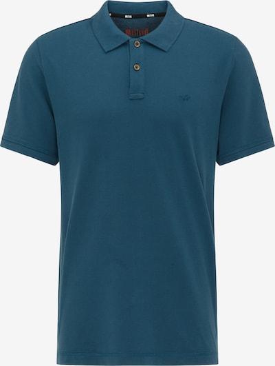 MUSTANG T-Shirt 'Poloshirt' in blau, Produktansicht
