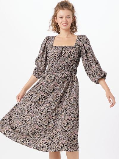 PIECES Kleid in lila / pastelllila / helllila / schwarz, Modelansicht