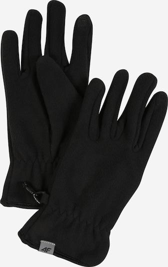 4F Handschuhe in schwarz, Produktansicht
