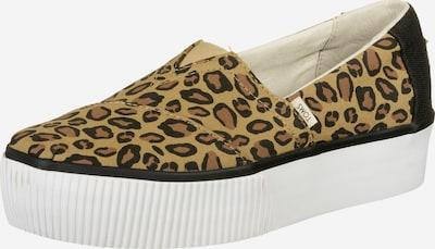 TOMS Sneaker ' Alpargata Boardwalk Plateau ' in beige / braun / schwarz, Produktansicht