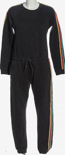 TWINTIP Langer Jumpsuit in S in blau / pastellgelb / schwarz, Produktansicht