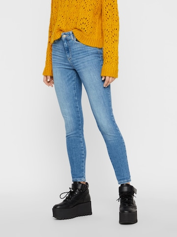 PIECES Jeans 'PCDELLY' in Blau