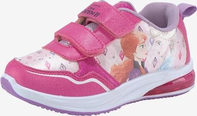 DISNEY Sneaker in mischfarben / pink, Produktansicht