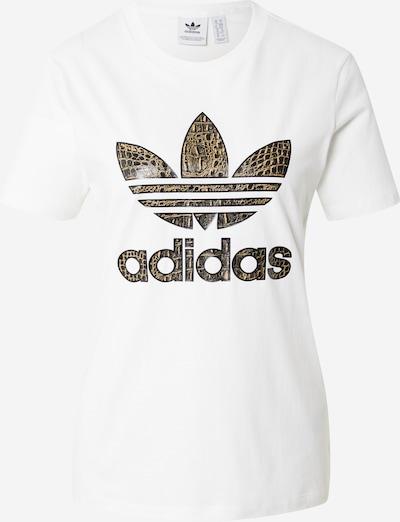 ADIDAS ORIGINALS Shirt in Beige / Brown / Ochre / Black / White, Item view