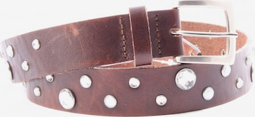 Made in Italy Belt in XS-XL in Brown