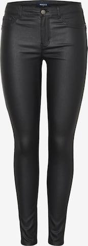 PIECES Jeans 'Paro' in Zwart