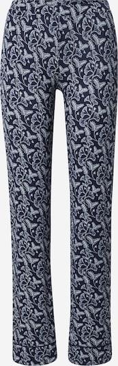 ETAM Pantalon de pyjama 'LOU' en bleu marine / blanc, Vue avec produit