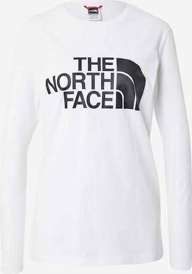 THE NORTH FACE Camiseta funcional en negro / blanco, Vista del producto
