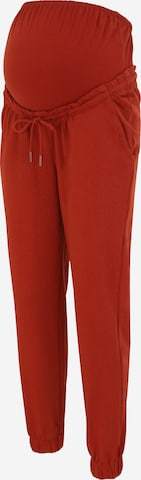 Only Maternity Trousers 'BLESS' in Red