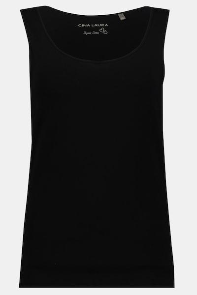 Gina Laura Tanktop in schwarz, Produktansicht