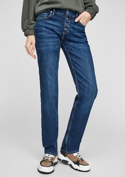 s.Oliver Jeans in dunkelblau, Modelansicht