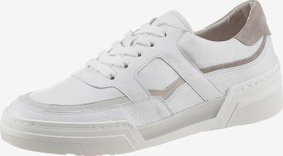GABOR Sneaker in greige / weiß, Produktansicht