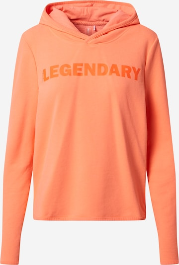 ONLY PLAY Sports sweatshirt 'FUD LIFE ' in Orange, Item view