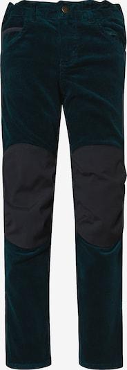 """FINKID Outdoorhose """"Kuusi' in smaragd, Produktansicht"""