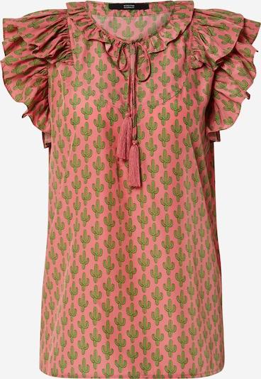 STEFFEN SCHRAUT Blusa 'Julia' en verde claro / coral, Vista del producto