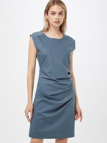 Kaffe Fodralklänning 'India' i blå