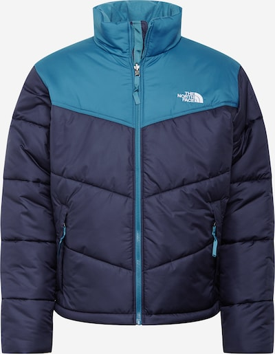 THE NORTH FACE Veste outdoor 'SAIKURU' en bleu marine / bleu ciel, Vue avec produit