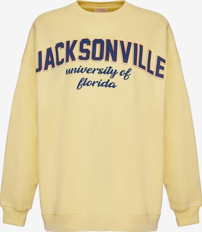 Grimelange Sweatshirt 'Ramona' in gelb, Produktansicht