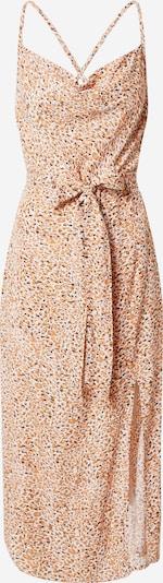 MINKPINK Vestido de verano 'NEVAEH' en naranja / negro / blanco, Vista del producto