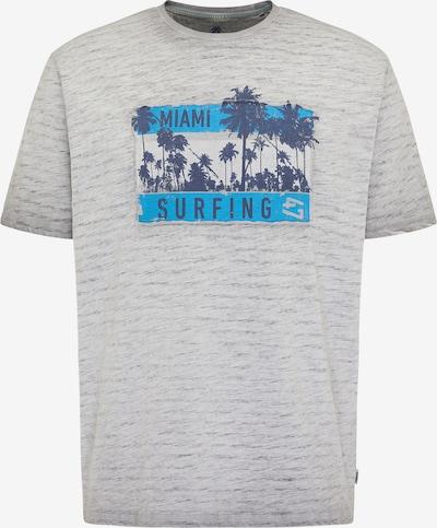 PIONEER T-Shirt en gris clair / mélange de couleurs, Vue avec produit