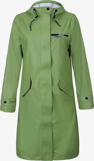 Dingy Rhythm Of The Rain Mantel 'Belle' in grün, Produktansicht