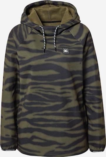DC Shoes Sportsweatshirt 'SALEM' en olive / noir, Vue avec produit