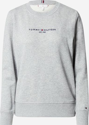 TOMMY HILFIGER Sweatshirt in navy / grau / rot: Frontalansicht