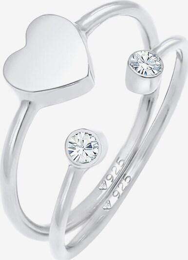 ELLI Sieraden set in de kleur Zilver, Productweergave