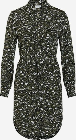 VILA Dress in green / black / white, Item view