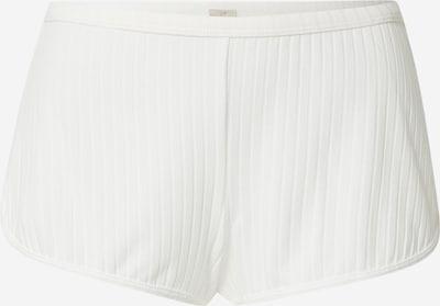 Pantaloni de pijama 'SILENCE' Dorina pe alb natural, Vizualizare produs