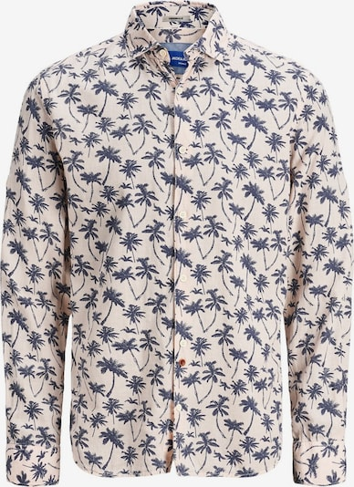 Jack & Jones Junior Hemd in hellbeige / navy, Produktansicht