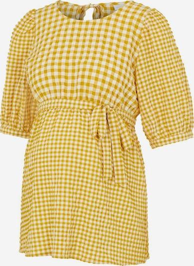 MAMALICIOUS Tunika in gelb / weiß, Produktansicht