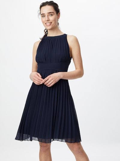 APART Cocktailkleid plissiert in nachtblau, Modelansicht