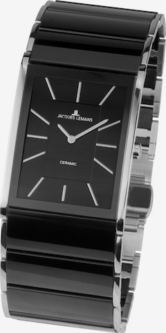 Jacques Lemans Analog Watch ' ' in Black