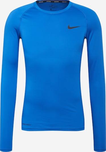 NIKE Camiseta funcional en azul / negro, Vista del producto