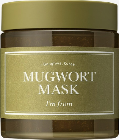 I´m from Maske 'Mugwort' in khaki, Produktansicht