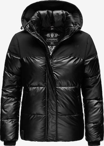 NAVAHOO Winter Jacket 'Sarafina' in Black
