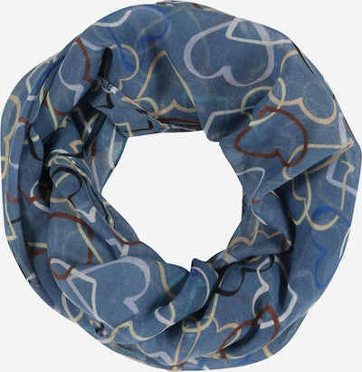 CODELLO Loop scarf in dusty blue / mixed colours, Item view