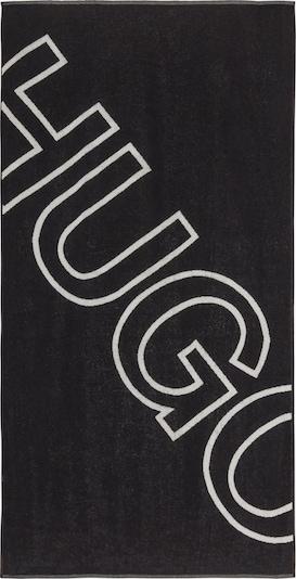 HUGO Badetuch 'SAN' in schwarz, Produktansicht