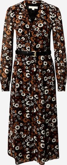 MICHAEL Michael Kors Robe-chemise en marron / noir / blanc, Vue avec produit